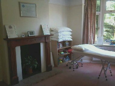 Photo of treatment room inside